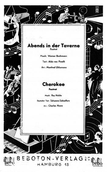 Abends in der Taverne und Cherokee: für Salonorchester
