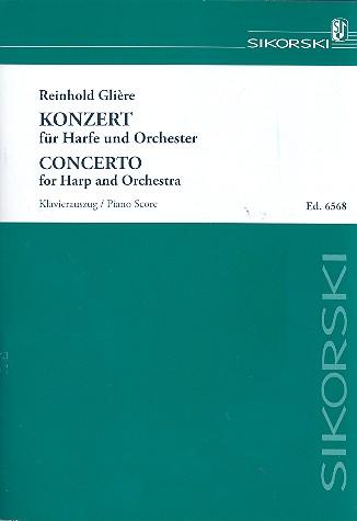 Konzert für Harfe und Orchester: für Harfe und Klavier
