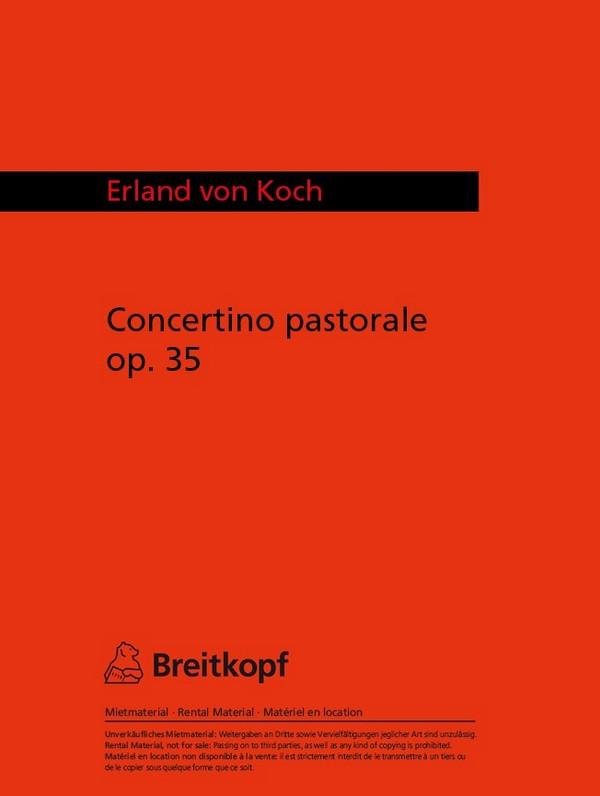 Concertino Pastorale opus. 35 Studienpartitur