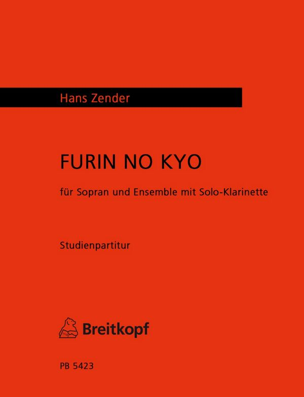 Furin No Kyo Studienpartitur