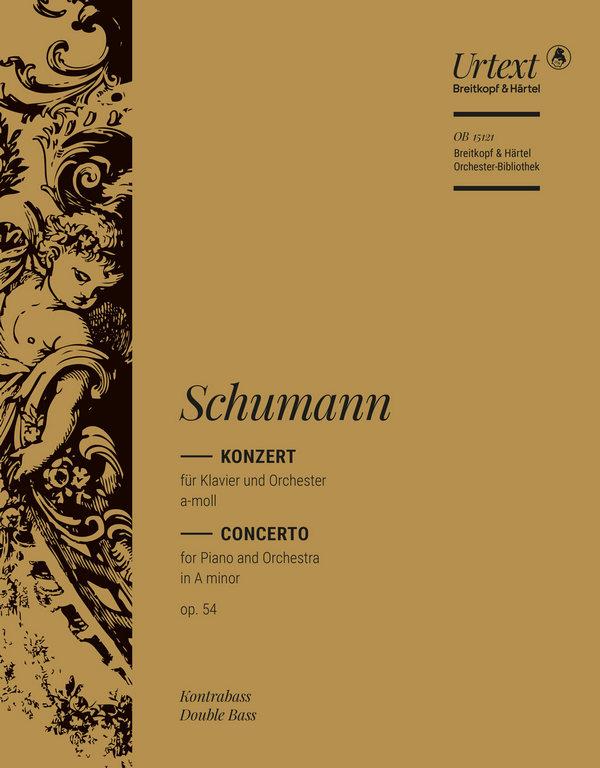 Konzert a-Moll op.54: für Klavier und Orchester