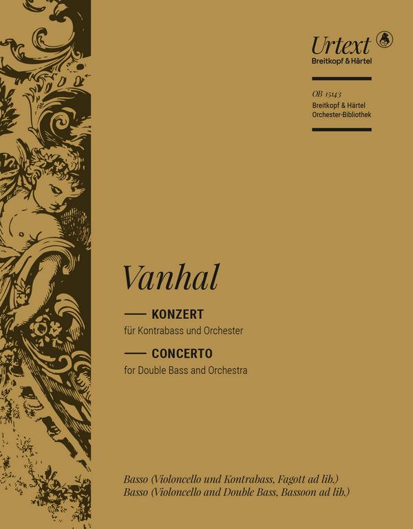Konzert Es-Dur: für Kontrabass und Orchester