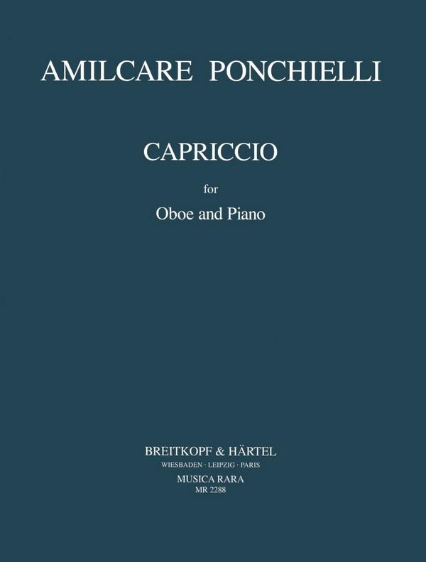 Ponchielli, Amilcare - Capriccio : für Oboe und Klavier
