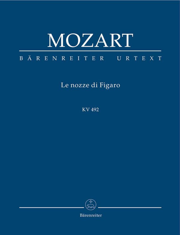 Le nozze di Figaro KV492 Studienpartitur (it)