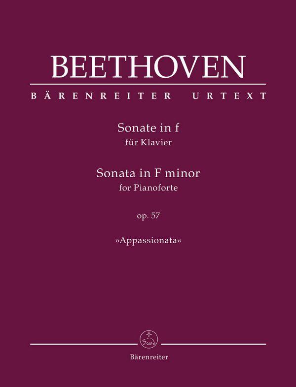 Beethoven, Ludwig van - Sonate f-Moll op.57 : für Klavier
