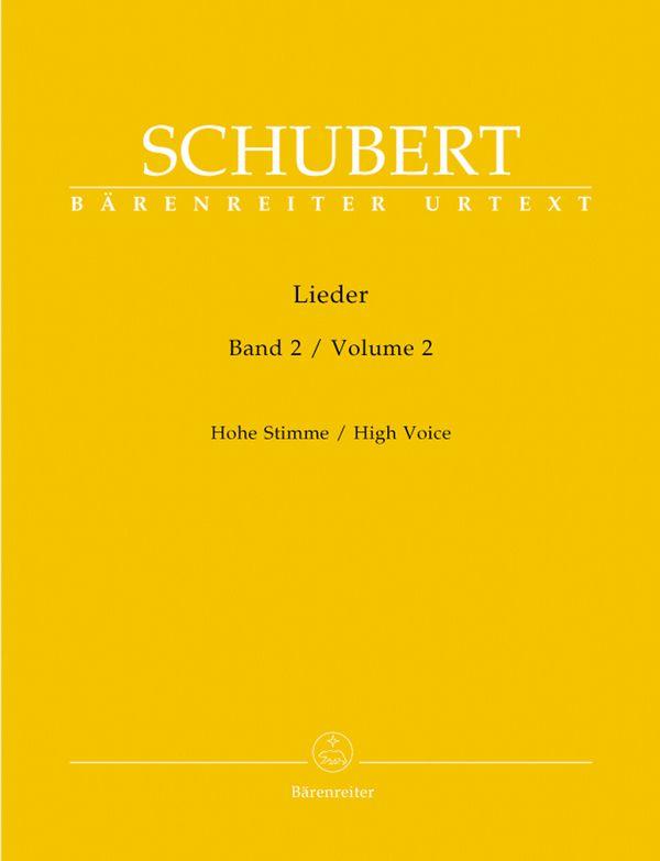 Schubert, Franz - Lieder Band 2 (op.26 bis op.79) :