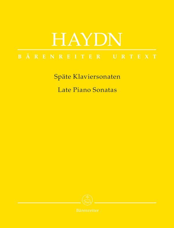 Haydn, Franz Joseph - Späte Klaviersonaten