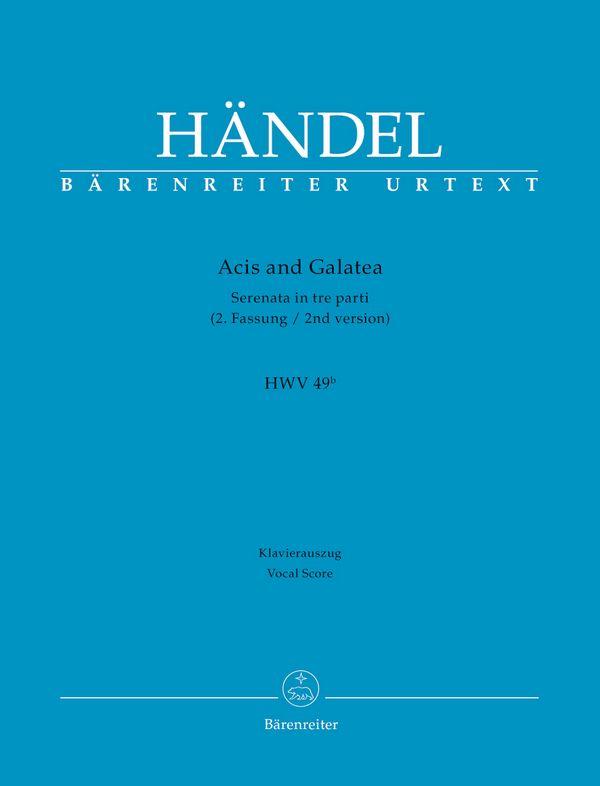 Acis and Galatea HWV49b (2. Fassung)