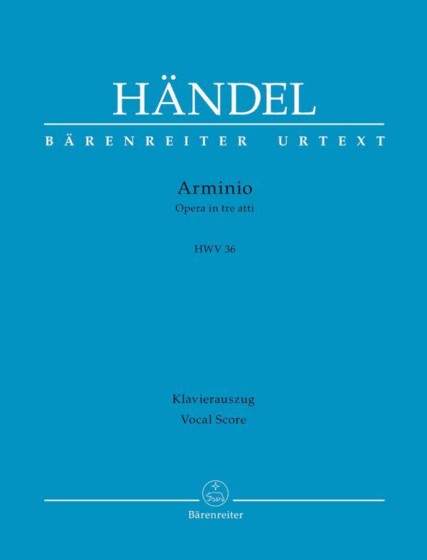 Arminio HWV36 Klavierauszug (dt/it)