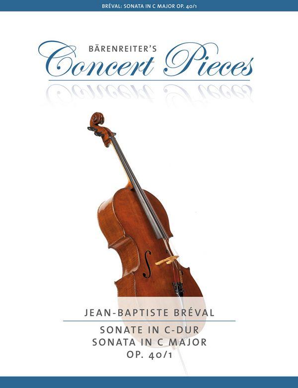 Bréval, Jean Baptiste - Sonate C-Dur op.40,1 :