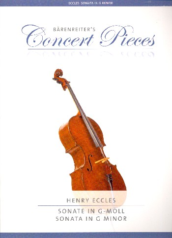 Eccles, Henry - Sonate g-Moll :