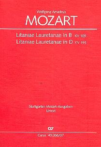 2 Litaniae Lauretanae: für Soli, gem Chor und Orchester