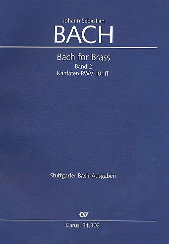 Bach for Brass Band 2: Kantaten BWV101 ff. Trompeten- und Zinkenpartien