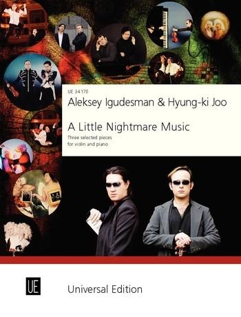 A little Nightmare Music: für Violine und Klavier