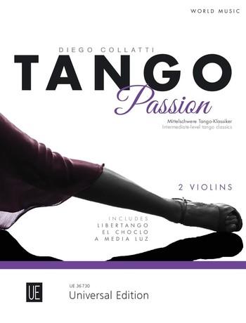 Tango Passion: für 2 Violinen
