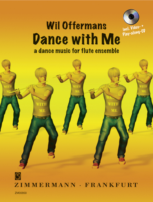 Dance with me (+CD-ROM): für Flöte (solo bis Ensemble)