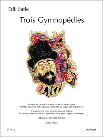 3 Gymnopédies: für Melodieinstrument und Begleitung (Streichorchester/Orgel solo)