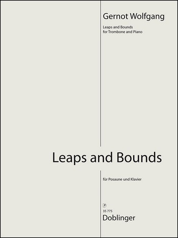 Leaps and Bounds: für Posaune und Klavier
