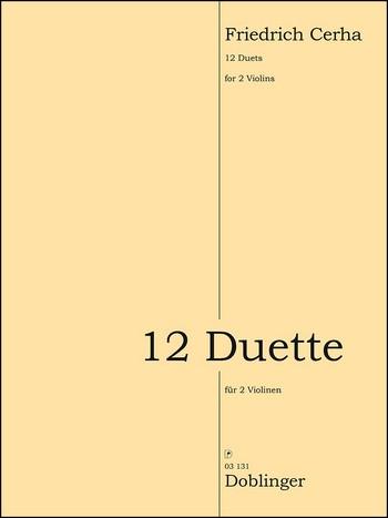 12 Duette: für 2 Violinen