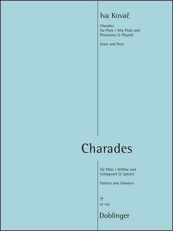 Charades: für Flöte (Altflöte) und 2 Schlagzeuger