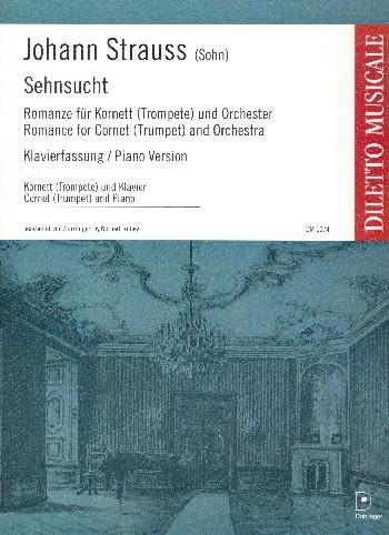 DM1074KLA Sehnsucht für Flügelhorn und Orchester: für Flügelhorn und Klavier