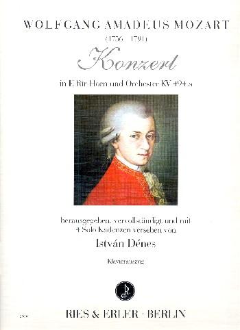 Konzert E-Dur KV494a für Horn und Orchester : - Vollanzeige.