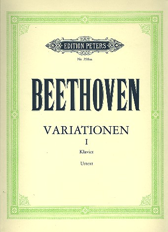 Beethoven, Ludwig van - Variationen Band 1 :