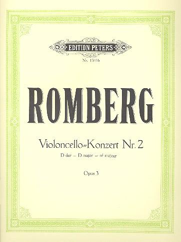 Romberg, Bernhard Heinrich - Konzert D-Dur op.3 für Violoncello und