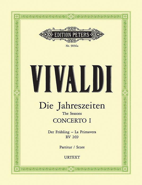 Vivaldi, Antonio - Konzert E-Dur RV269 :