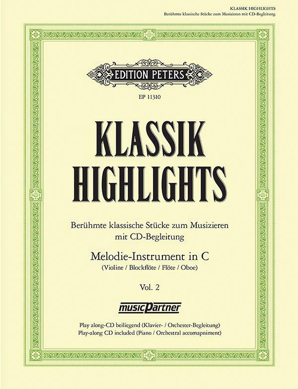 - Klassik Highlights Band 2 (+CD) :