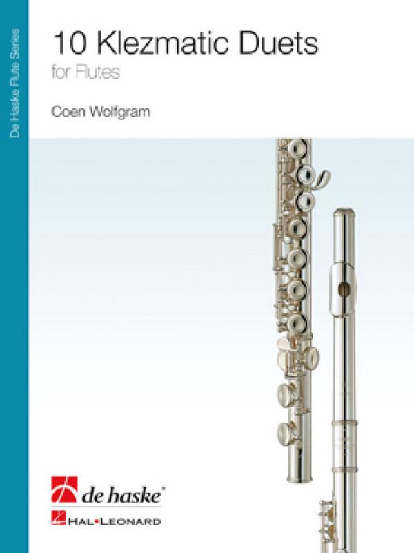 10 klezmatic Duets: for 2 flutes score