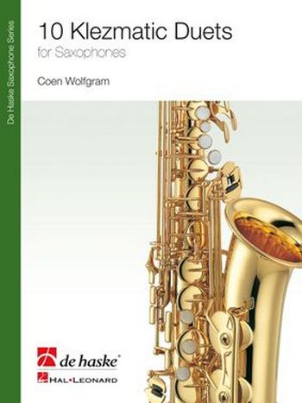 10 klezmatic Duets: for 2 saxophones score
