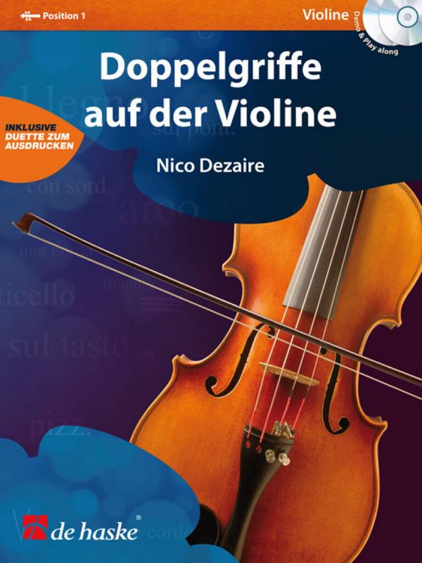 Dezaire, Nico - Doppelgriffe (+CD) : für Violine