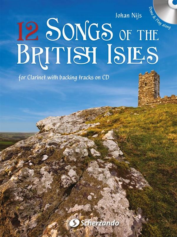 12 Songs of the British Isles (+CD): for clarinet