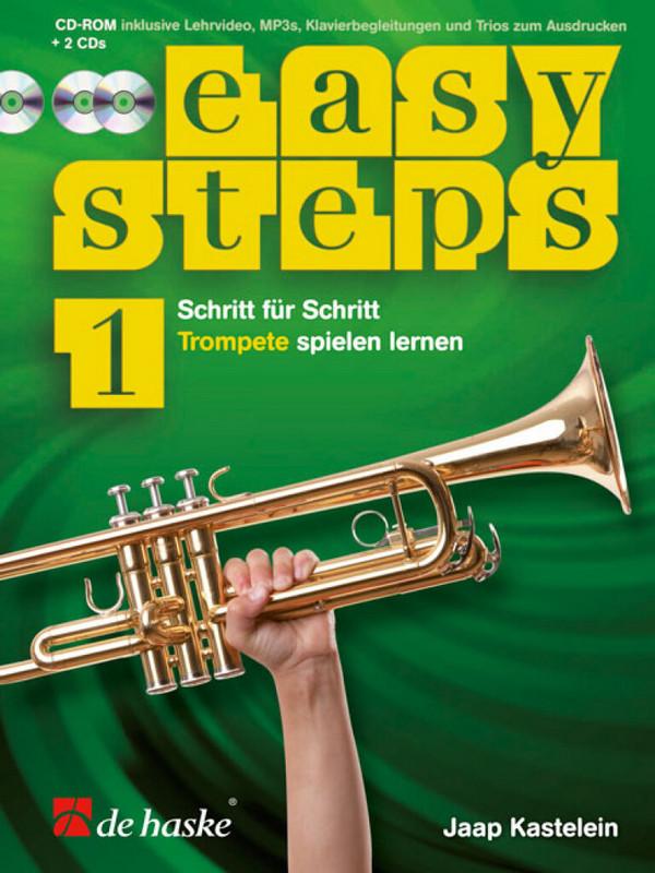 Kastelein, Jaap - Easy Steps Band 1 (+CD-ROM +2 CD's) :