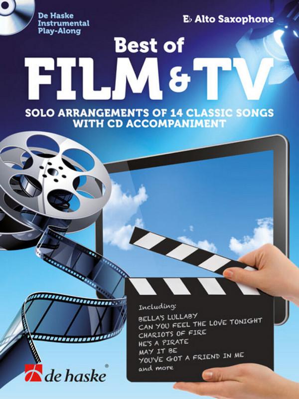 Best of Film & TV (+CD): for alto saxophone