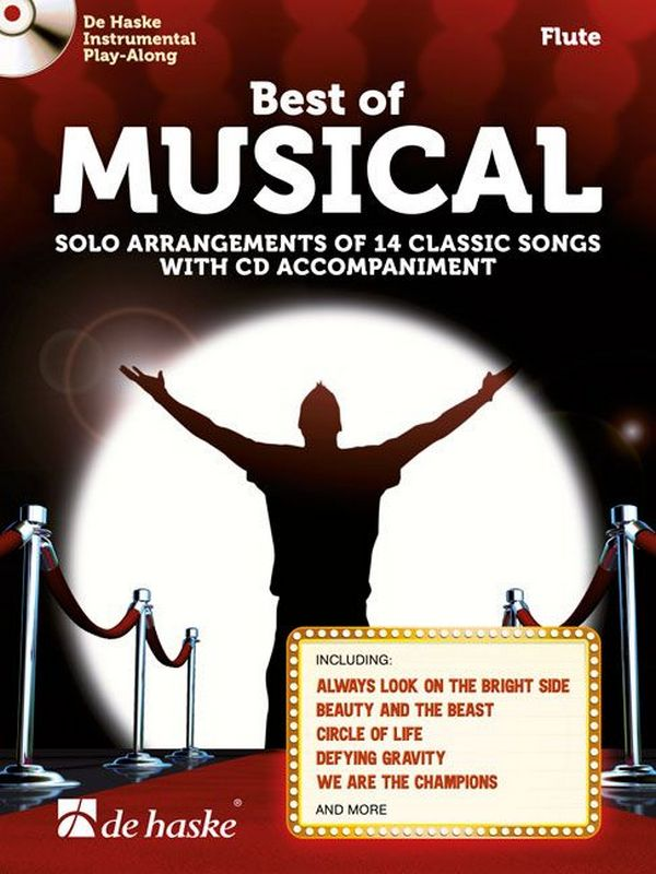Best of Musical (+CD): for flute