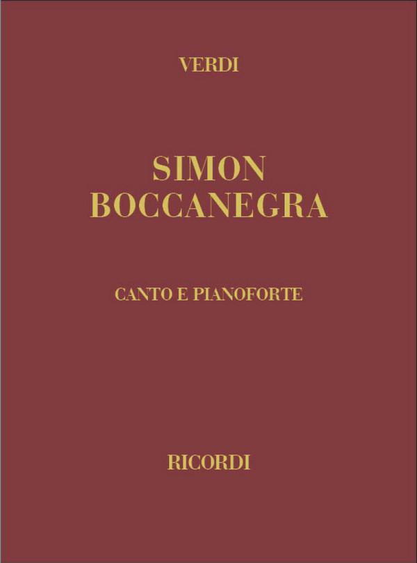 Verdi, Giuseppe - Simon Boccanegra : edizione canto e