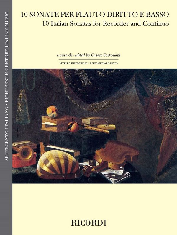 10 Sonaten: für Blockflöte und Bc