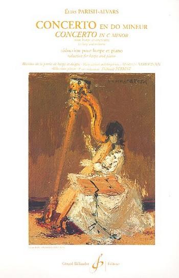 Concerto en do mineur pour harpe et orchestre: pour harpe et piano