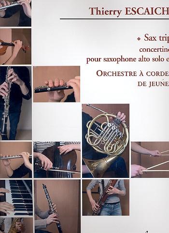 Sax Trip (+CD): pour saxophone alto et orchestre à cordes (de jeunes)