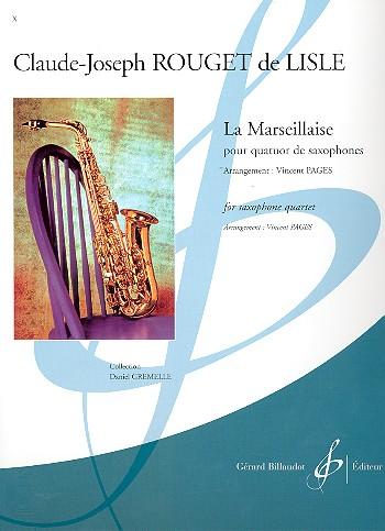 La Marseillaise: pour 4 saxophones (SATBar)