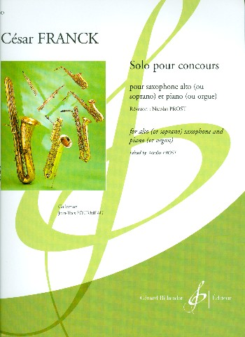 Franck, César - Solo pour concours :