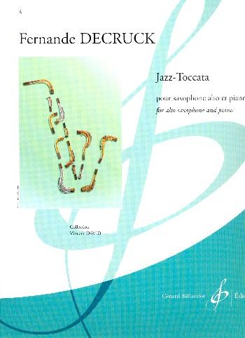 Jazz-Toccata: pour saxophone alto et piano
