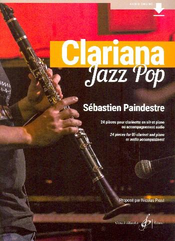 Paindrestre, Sébastien - Clariana Jazz Pop (+Audio online) :