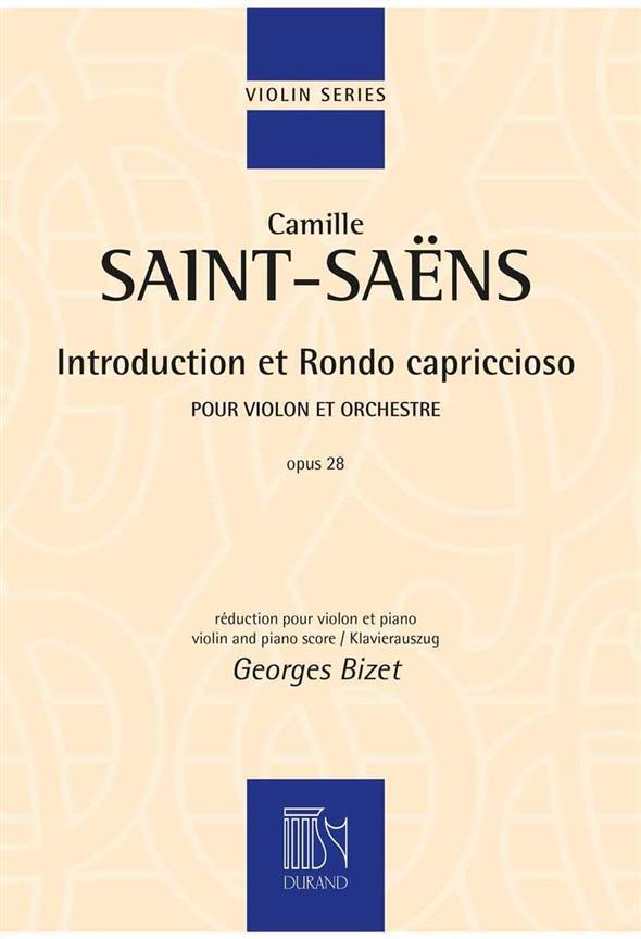 Saint-Saens, Camille - Introduction et Rondo capriccioso op.28
