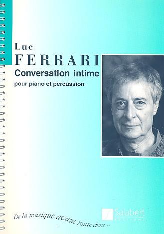 Conversation intime: pour piano et percussion