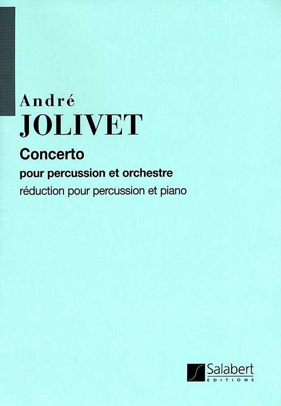 Concerto pour percussion et orchestre: pour percussion et piano