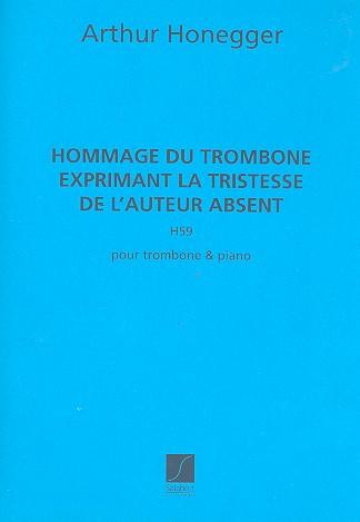 Hommage du trombone H59: pour trombone et piano