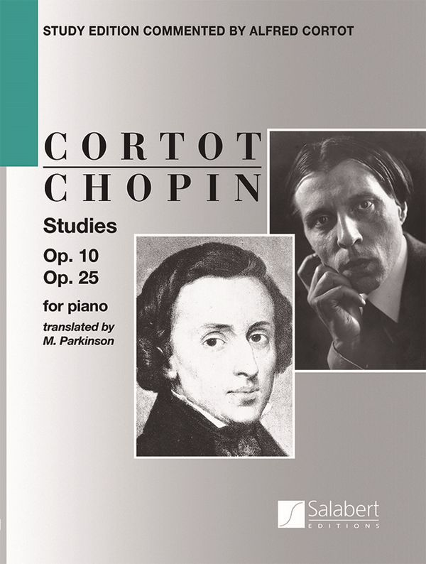 Chopin, Frédéric - Studies op.10 and op.25 : for piano